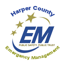 Harper County Emergency Management Logo
