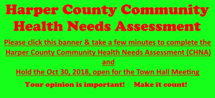 Click to take the Health Needs Assessment Survey